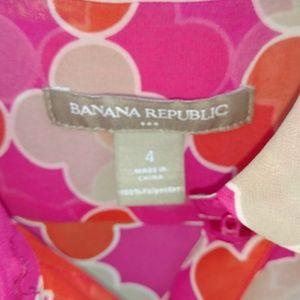 Banana Republic Tops - Banana Republic Women's Shear Blouse Size 4 EUC